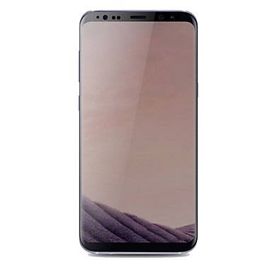 Képernyővédő fólia Samsung Galaxy mert S8 Edzett üveg 1 db Kijelzővédő fólia 3D gömbölyített szélek Betekintésvédelmi fólia
