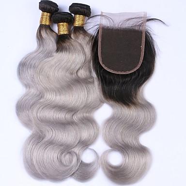 Malaysian Hair Body Wave Human Hair Hair Weft with Closure Human Hair Weaves Human Hair Extensions