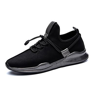 Férfi cipő Tüll Tél Ősz Kényelmes Tornacipők Fűző mert Sport Fekete
