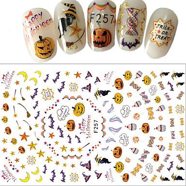 1 pcs 3D Nail Stickers Nail DIY Tools Full Nail Stickers nail art Manicure Pedicure 3D Fashion Daily