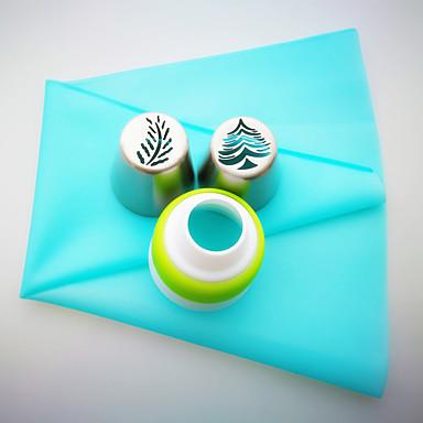 1db Újdonság Mindennapokra Rozsamentes acél + A ragú ABS Jó minőség süteményformákba