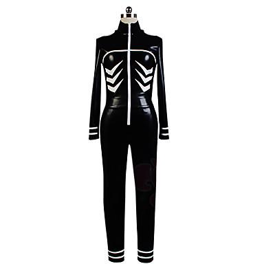 Вдохновлен Токио вурдалак Кен Kaneki Аниме Косплэй костюмы Косплей Костюмы Однотонный трико/Комбинезон-пижама Кофты Брюки Назначение Муж.