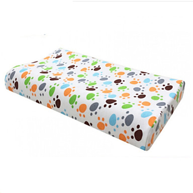 Comfortable-Superior Quality Memory Child Pillow Natural Latex Pillow Net Fabric Latex Stretch