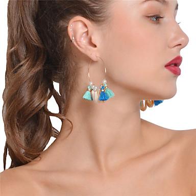 Női Bohém Függők / Francia kapcsos fülbevalók - Bohém / Szexi Arany Fülbevaló Kompatibilitás Parti / Napi