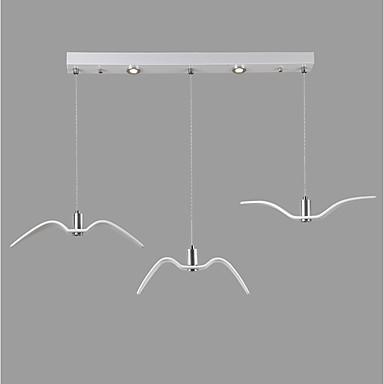 3-Light Linear Pendant Light Downlight 110-120V / 220-240V LED Light Source Included / 15-20㎡ / LED Integrated