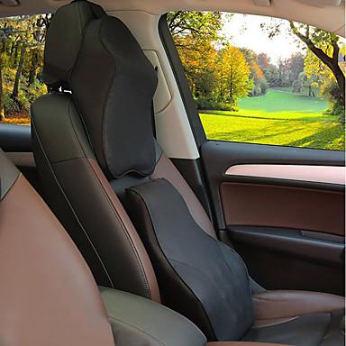 Car Headrests Headrest & Waist Cushion Kits Leather For universal All years