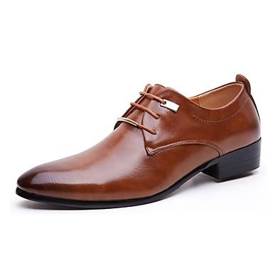 Férfi cipő Bőr Tavasz / Ősz Formai cipő Félcipők Fekete / Barna