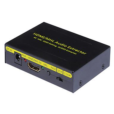 HDMI 1.3 HDMI 1.4 Átalakító, HDMI 1.3 HDMI 1.4 to HDMI 1.3 HDMI 1.4 Átalakító Papa - Mama 4K*2K Aranyozott réz 20.0m (60ft) 10 Gbps