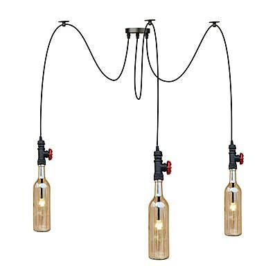 3-Light Függőlámpák Háttérfény - Tükröződésmentes, Mini stílus, Az izzó tartozék, 220-240 V Az izzó tartozék / G4 / 10-15 ㎡