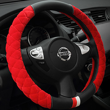 cheap Steering Wheel Covers-Steering Wheel Covers Plush 38cm Beige / Gray / Purple For Buick All years