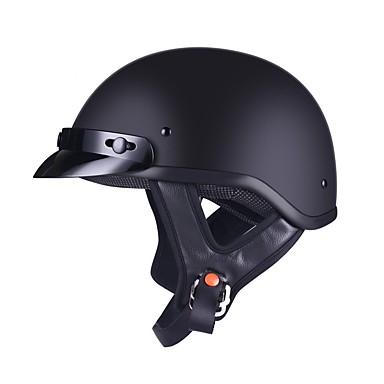 povoljno Automoto-Polu-kaciga Odrasli Uniseks Motocikl Kaciga Trajnost / Relaxed Fit / Izdržljivost