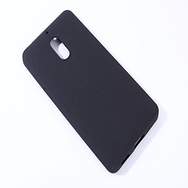 Case For Nokia Frosted Back Cover Solid Color Soft TPU for Nokia 6