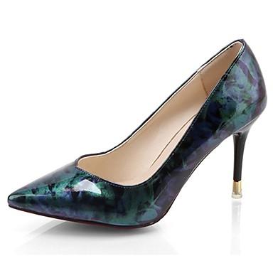 b0b2536a0f8 Women s Shoes PU(Polyurethane) Summer Basic Pump Heels Stiletto Heel  Pointed Toe Fuchsia   Blue   Dress