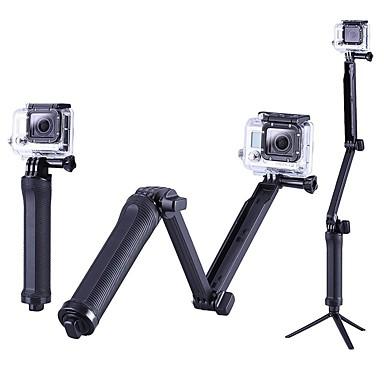 Χαμηλού Κόστους Αξεσουάρ για Αθλητικές Κάμερες & GoPro-Τριπόδι Για Υπαίθρια Χρήση Φορητά Θήκη 1 pcs Για την Κάμερα Δράσης Gopro 6 Όλα Gopro 5 Xiaomi Camera SJCAM Σέρφινγκ Κατασκήνωση & Πεζοπορία Σκι PC / SJ4000