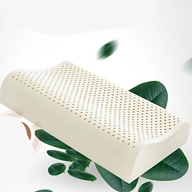 Comfortable-Superior Quality Natural Latex Pillow / Headrest / Bed Pillow Stretch Pillow Latex Polyester / Cotton