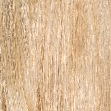 povoljno Perike i ekstenzije-Ljudski kose bez kaplama Ljudska kosa Ravan kroj Pixie frizura / Kratke frizure 2019 Stil Stražnji dio Kratko Machine Made Perika Žene