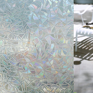 povoljno Zidne naljepnice-Geometrijski oblici Naljepnica za prozor, PVC/Vinil Materijal prozor dekoracija Dnevna soba Kupka soba Shop / Caffe Kuhinja