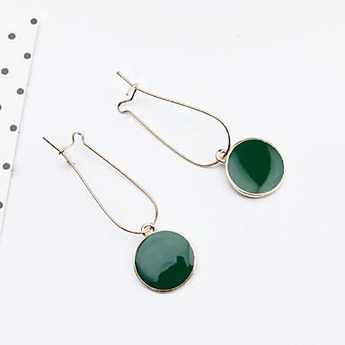 Women's Drop Earrings - Fashion Green For Daily Casual
