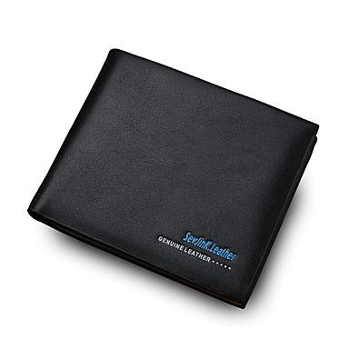 Men's Bags PU(Polyurethane) Coin Purse Pocket Black