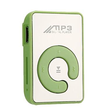 MP3PlayerNem 3,5 mm Jack dugó TF kártya Gomb