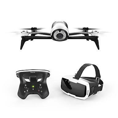 RC Drón Bebop 2.0 Drone with FPV Goggles 4CH 3 Tengelyes 2,4 G / WIFI HD kamerával 1080P RC quadcopter Egygombos Visszaállítás / Gyűjtsön Repülési Adat / GPS Helymeghatározó RC Quadcopter / Lebeg