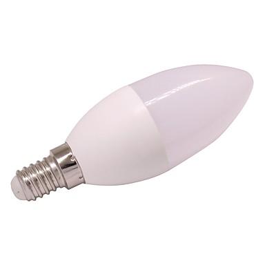 1db 3 W 260 lm LED gyertyaizzók E27 / E14 6 led SMD 2835 Meleg fehér Hideg fehér