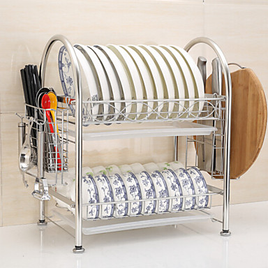 Kitchen Organization Cookware Holders Stainless Steel Easy to Use 1pc