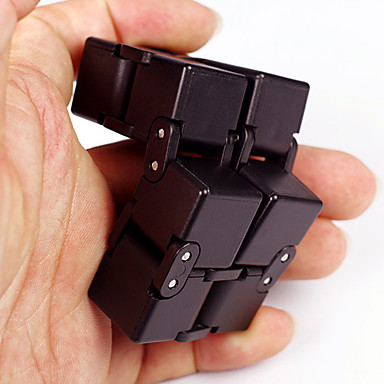 Infinity Cubes Fidget Toy Magic Cube Stress Reliever Novelty Plastic 1pcs Pieces Boys' Kid's Adults' Gift