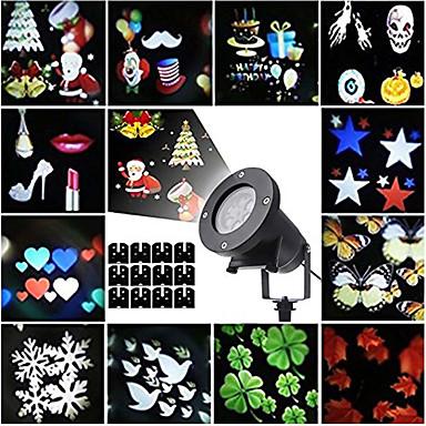 preiswerte Dekorative Beleuchtung-KWB 1 set 12 W Leuchte für Rasenplatz 100-240 V Außenbeleuchtung / Halloween / Danksagungen 12 LED-Perlen