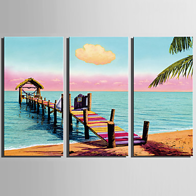 Print Landscape Modern Three Panels
