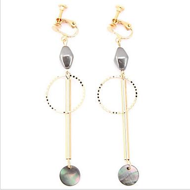 Women's Pearl Gold Plated Hoop Earrings - For Wedding Office & Career