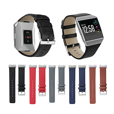 Watch Band for Fitbit ionic Fitbit Classic Buckle Genuine Leather Wrist Strap