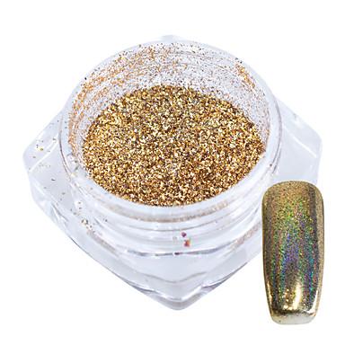 1pc Powder / Glitter Powder / Nail Glitter Sparkle & Shine / Laser Holographic Nail Art Design