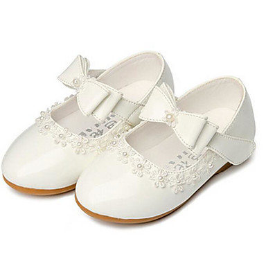 c621ded44786f9 Girls  Shoes PU Spring   Fall Flower Girl Shoes Sneakers for White   Black    Red