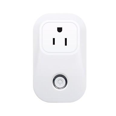 sonoff® s20 10a 2200w wifi vezeték nélküli távvezérlő socket intelligens időzítő az alexa app telefonon keresztül