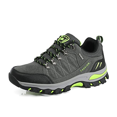 Men's Leatherette Fall / Winter Comfort Athletic Shoes Black / Gray / Army Green