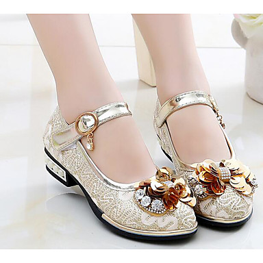 bfe5b4e47cc Girls  Shoes PU(Polyurethane) Spring   Summer Comfort   Flower Girl Shoes  Sneakers for Gold   Pink  06312764