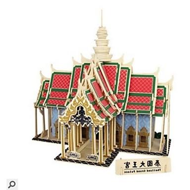 voordelige 3D-puzzels-3D-puzzels Legpuzzel Modelbouwsets Huizen Mode Grang Palace Nieuw Design DHZ Puinen 1 pcs Klassiek Modern / Hedendaags Modieus Kinderen Volwassenen Jongens Meisjes Speeltjes Geschenk