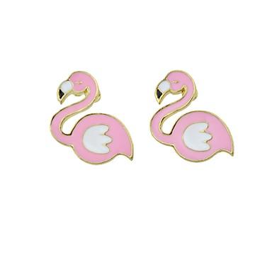 Women's Drop Earrings - Bird Fashion, Cute Pink For Casual / Date