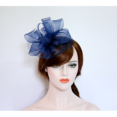 Gemstone & Crystal / Tulle / Net Flowers / Hats / Headpiece with Crystal / Feather 1 Wedding / Party / Evening / Event / Party Headpiece
