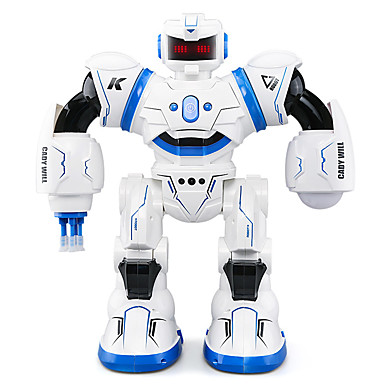 RC Robot JJRC R3 Domestic & Personal Robots Intelligent Robot Robot 2.4G ABS Singing Walking Talking Extra-long Standby Time