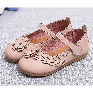 4186cd37c Chica Zapatos PU microfibra sintético Otoño Invierno Zapatos para niña  florista Zapatillas de deporte para Casual Beige Gris Rosa 6312763 2019 –   8.99