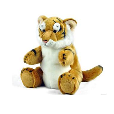 voordelige Marionetten-Vingerpoppetjes Poppen Handpop Tiger Dier Schattig Pluche Kinderen Volwassenen Speeltjes Geschenk