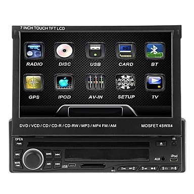 7inch 1 Din 800 x 480 Windows CE 5.0 DVD-плеер для авто для Универсальный Встроенный Bluetooth / Запоминающее устройство / Звуковое