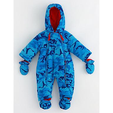 Baby Jungen Muster Langarm Baumwolle Anzug & Overall