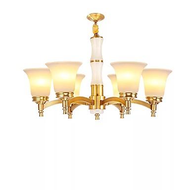 QIHengZhaoMing 6-światło Lampy widzące Światło rozproszone - Ochrona oczu, 110-120V / 220-240V, Ciepły biały, Żarówka w zestawie / 15-20 ㎡