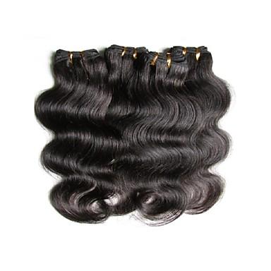4 חבילות שיער ברזיאלי Body Wave שיער אנושי טווה שיער אדם שוזרת שיער אנושי תוספות שיער אדם