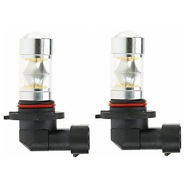2pcs 9005 Autó Izzók 100W SMD 5050 3000lm LED izzók Ködlámpa