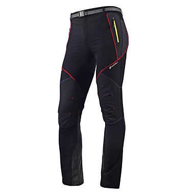 Nuckily Hombre Pantalones de Ciclismo Bicicleta Pantalones / Sobrepantalón / Medias / Mallas Largas / Prendas de abajo Secado rápido,