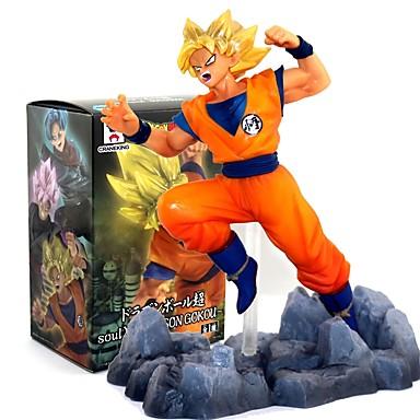 Rysunki Anime akcji Zainspirowany przez Dragon Ball Goku PVC CM Klocki Lalka Zabawka